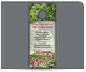 Picture of Full Color Door Hanger - Landscape