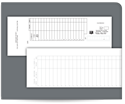 Picture of Carbonless Deposit Ticket Books, Classic, Lined