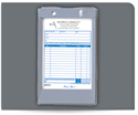 "Picture of 4"" x 6-1/2"" Plastic Register Form Holder"