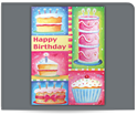 Picture of Colorful Cakes
