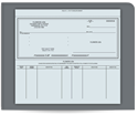 Picture of Voucher Accounts Payable 3-Part Checks, Lined