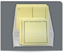 Picture of Post-it® Notes Pack Acrylic Holder