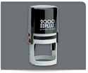 Picture of 2000 Plus® Self-Inking Round Message/Notary Stamp