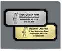 """Picture of 1-1/4"""" x 3"""" Foil Advertising Labels"""