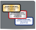 """Picture of 1-1/4"""" x 3""""  Advertising Labels"""