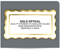 "Picture of 1-3/8"" x 2-7/16"" Foil Advertising Labels"
