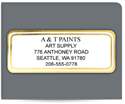 "Picture of 1"" x 2-1/2"" Foil Advertising Labels"