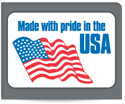 "Picture of 3"" x 2"" USA Labels"