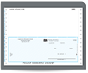 "Picture of Continuous Bottom  7"" Carbonless Checks, Peachtree® Compatible, Unlined"