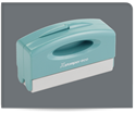 Picture of Xstamper® Eco-Green® Pre-Inked Large Pocket/Notary Stamp