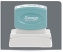 Picture of Xstamper® Eco-Green® Pre-Inked Large Return Address Stamp