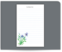 Picture of Personalized Notepads, Large