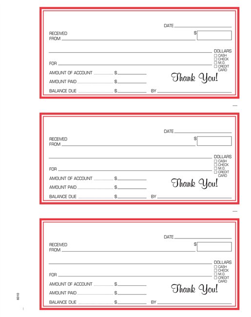 DrawingBoard® Printing | Receipt Books, Memos & Message Forms ...