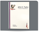 Picture of Full Color Presentation Folder - Eagle with Flag