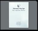 Picture of Full Color Presentation Folder - Sky Blue