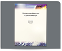 Picture of Full Color Presentation Folder - Tech Universe