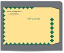 "Picture of 10"" x 13"" KWIK-TAK® Kraft First Class Envelope"