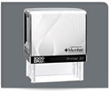 Picture of 2000 Plus® Self-Inking Small Return Address/Notary Stamp with Microban®