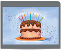 Picture of Birthday Wishes Ablaze