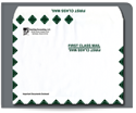 "Picture of 10"" x 13"" Gum Seal First Class Booklet Envelope"