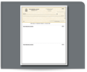 Picture of Laser Top Carbonless Checks, QuickBooks® Compatible, Lined