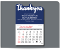 Picture of Value Stick™ Calendars - Thank You