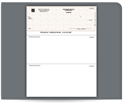 Picture of Laser, 1-Part, Top Checks, QuickBooks® Compatible, Unlined