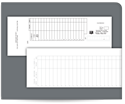 Picture of Carbonless, 2-Part, Deposit Ticket Books, Classic, Lined