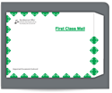 """Picture of 9"""" x 12"""" FLAP-STIK Tyvek® First Class Envelope"""