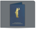 Picture of Foil Lady Justice Legal Presentation Folder