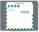 "Picture of 9"" x 12"" Gum Seal First Class Booklet Envelope"