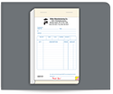 """Picture of 5-1/2"""" x 8-1/2"""" Carbonless Sales Book"""